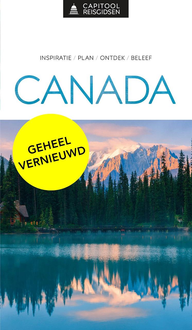 Capitool gids Canada 9789000369102  Unieboek Capitool Reisgidsen  Reisgidsen Canada
