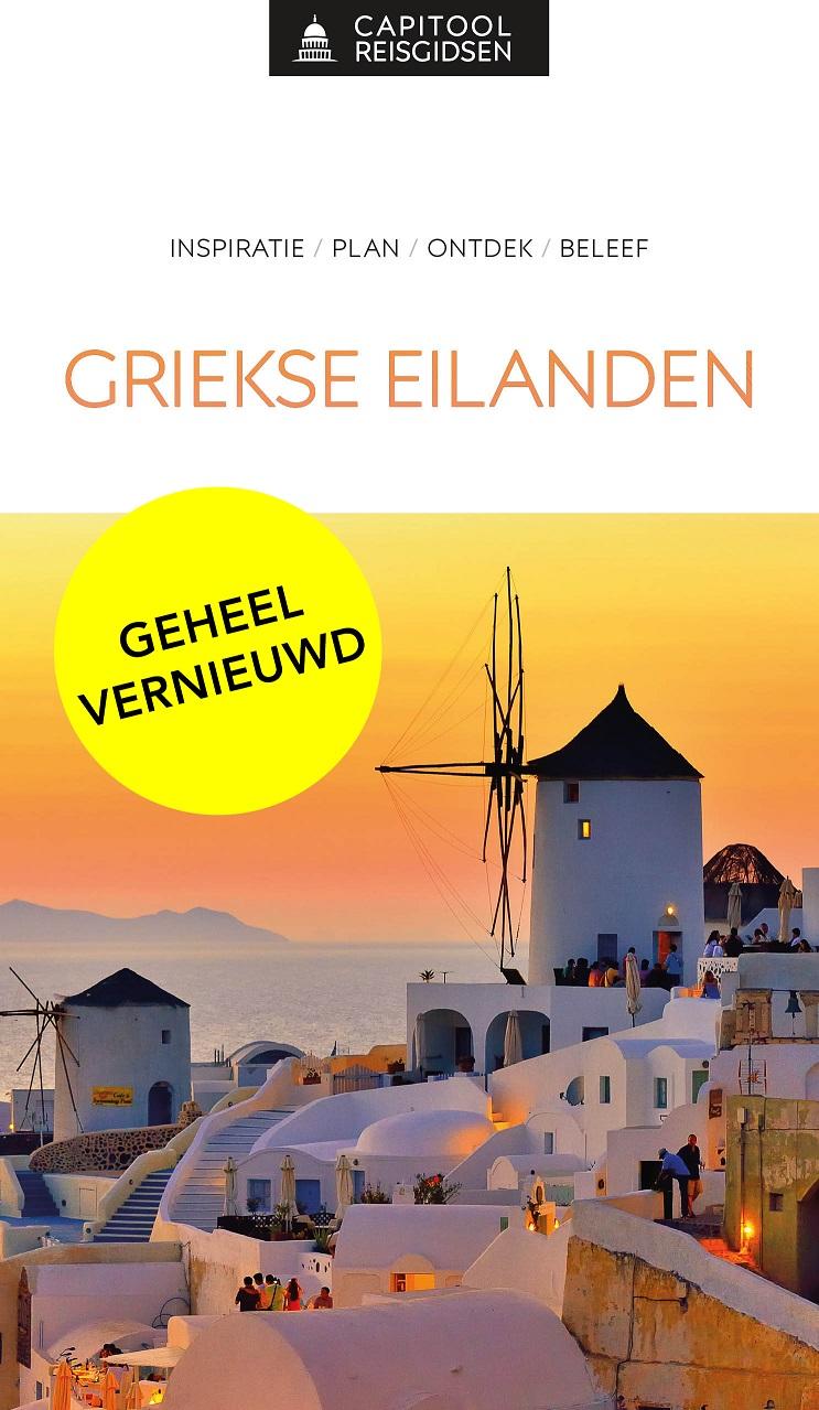 Capitool gids Griekse Eilanden 9789000369133 Dubin Unieboek Capitool Reisgidsen  Reisgidsen Egeïsche Eilanden