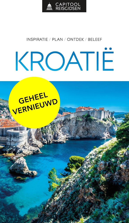 Capitool gids Kroatie 9789000369164  Unieboek Capitool Reisgidsen  Reisgidsen Kroatië