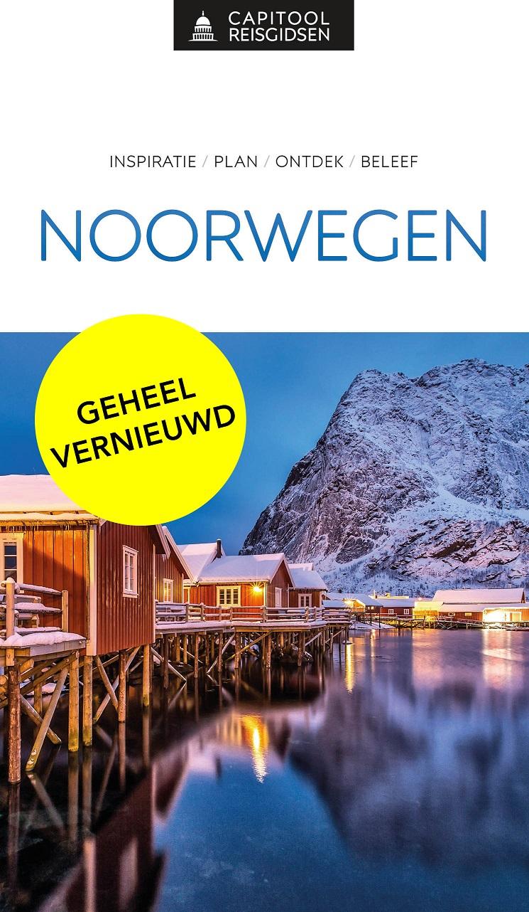 Capitool gids Noorwegen 9789000369195  Unieboek Capitool Reisgidsen  Reisgidsen Noorwegen