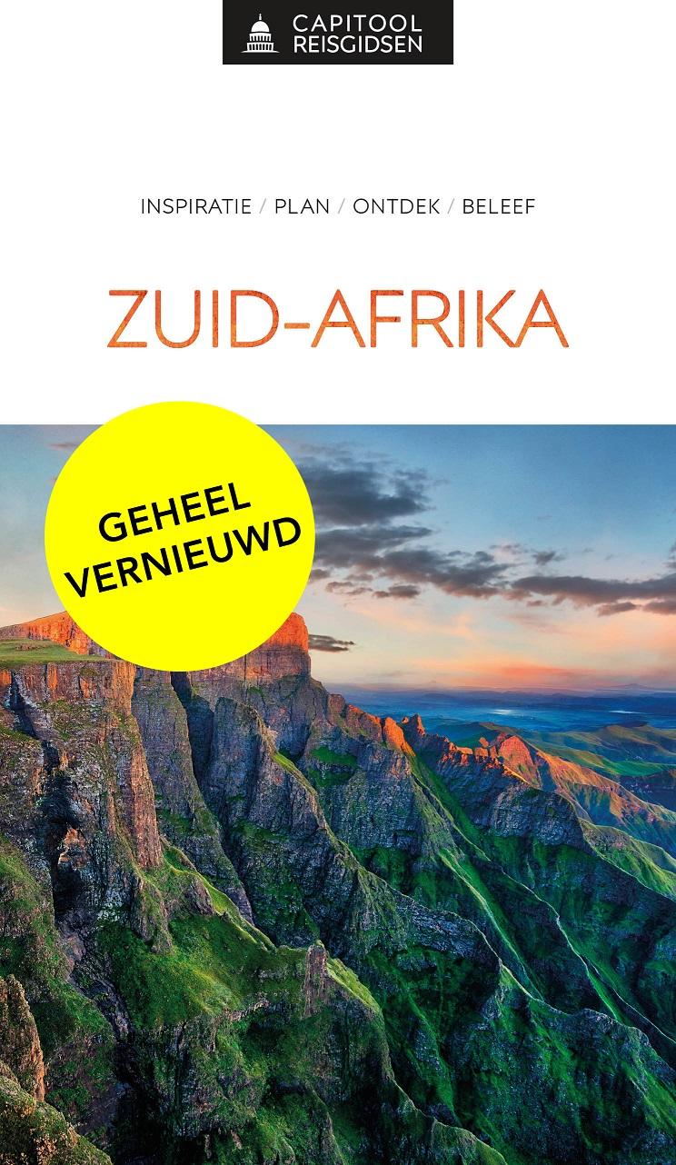 Capitool gids Zuid-Afrika 9789000369249  Unieboek Capitool Reisgidsen  Reisgidsen Zuid-Afrika