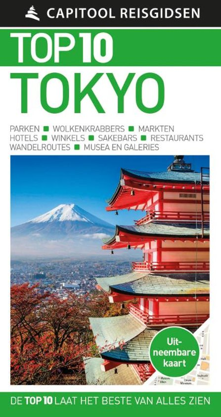 Capitool Top 10 Tokyo 9789000371129  Unieboek Capitool Top 10  Reisgidsen Japan
