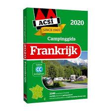 ACSI campinggids Frankrijk 2020 9789492023872  ACSI   Campinggidsen Frankrijk
