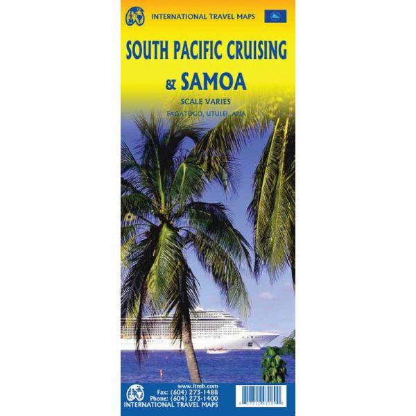 South Pacific Cruising / Samoa 1:12.000.000 9781771297189  ITM   Landkaarten en wegenkaarten Pacifische Oceaan (Pacific)