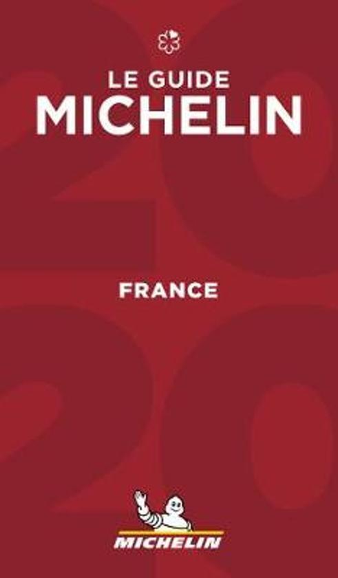 Michelin Gids Frankrijk | France 2020 9782067241817  Michelin Rode Jaargidsen  Hotelgidsen, Restaurantgidsen Frankrijk