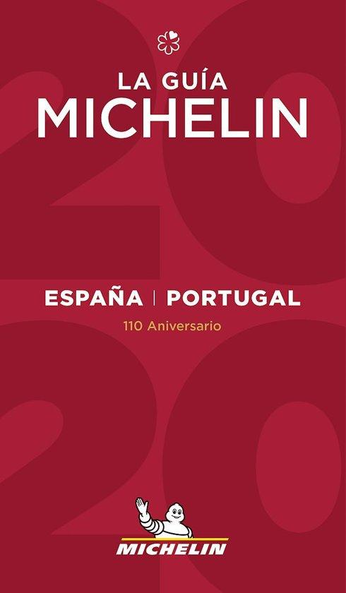 Michelin Gids Spanje (España) en Portugal 2020 9782067241848  Michelin Rode Jaargidsen  Restaurantgidsen Spanje