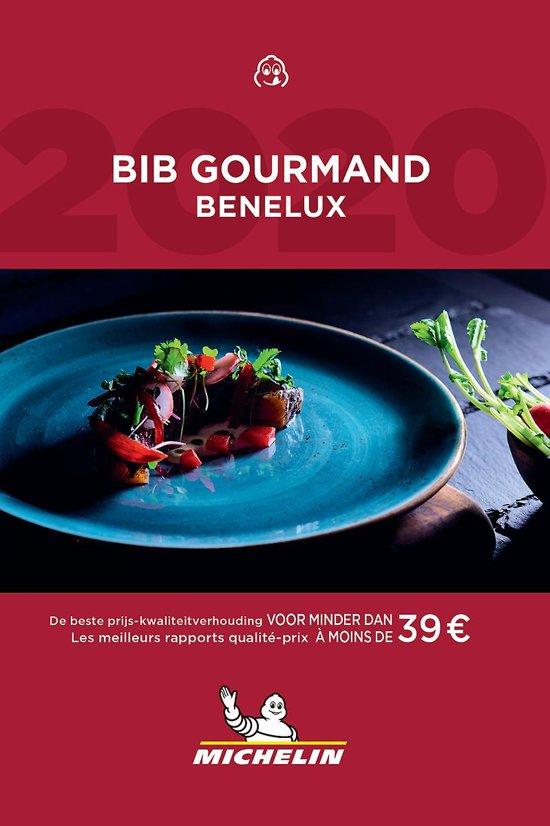 Michelin Gids Bib Gourmand Benelux 2020 9782067242357  Michelin Rode Jaargidsen  Restaurantgidsen Benelux
