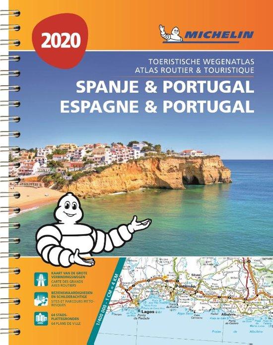 460  wegenatlas Spanje/Portugal 1/400.000 2020 9782067242678  Michelin Wegenatlassen  Wegenatlassen Spanje