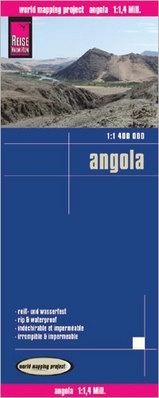 landkaart, wegenkaart Angola 1:1.400.000 9783831773145  Reise Know-How WMP Polyart  Landkaarten en wegenkaarten Angola, Zimbabwe, Zambia, Mozambique, Malawi