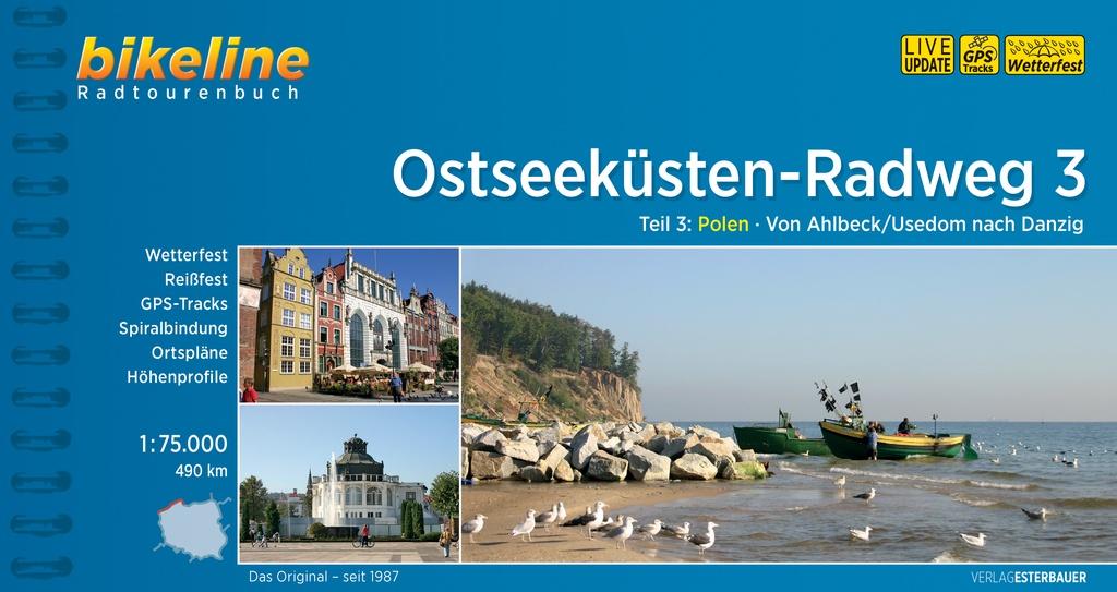 Bikeline Ostseeküsten-Radweg 3 (Polen) | fietsgids 9783850002196 (Oostzeekustroute) Esterbauer Bikeline  Fietsgidsen, Meerdaagse fietsvakanties Polen