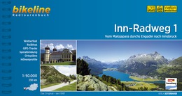 Bikeline Inn-Radweg 1 | fietsgids 9783850008075  Esterbauer Bikeline  Fietsgidsen, Meerdaagse fietsvakanties Tirol & Vorarlberg
