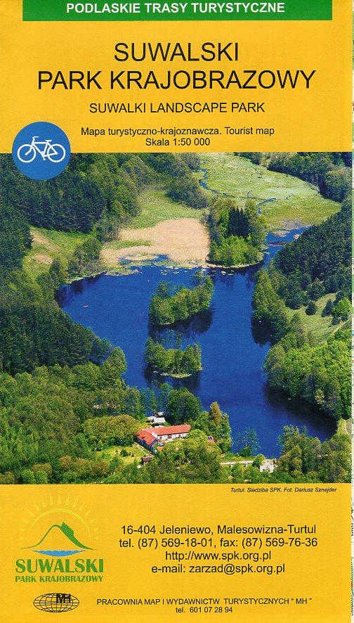 Suwalski Park Krajobrazowy | wandelkaart 1:50.000 9788361761198  Ppwk   Wandelkaarten Polen