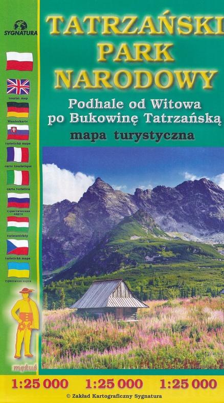 Tatra National Park | wandelkaart 1:25.000 9788374992305  Grupa CartoMedia Mapy turystyczna  Wandelkaarten Polen