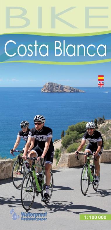 Costa Blanca, fietskaart 1:100.000 9788480908023  Editorial Alpina   Fietskaarten Costa Blanca