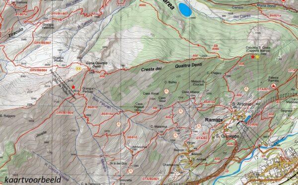 FRA-15  Valle Gesso | wandelkaart 1:25.000 9788897465119  Fraternali Editore   Wandelkaarten Turijn, Piemonte