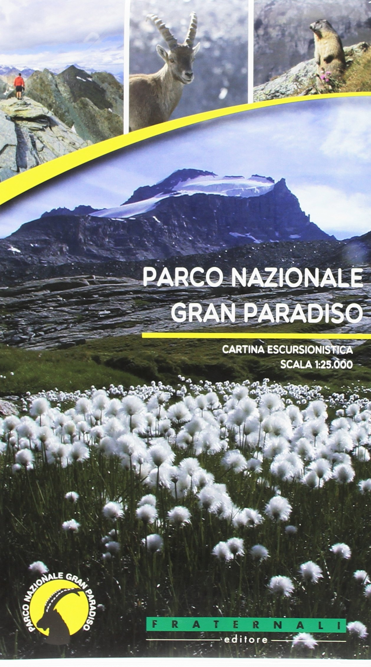 Parco Nazionale del Gran Paradiso | wandelkaart 1:25.000 9788897465454  Fraternali Editore   Wandelkaarten Aosta, Gran Paradiso