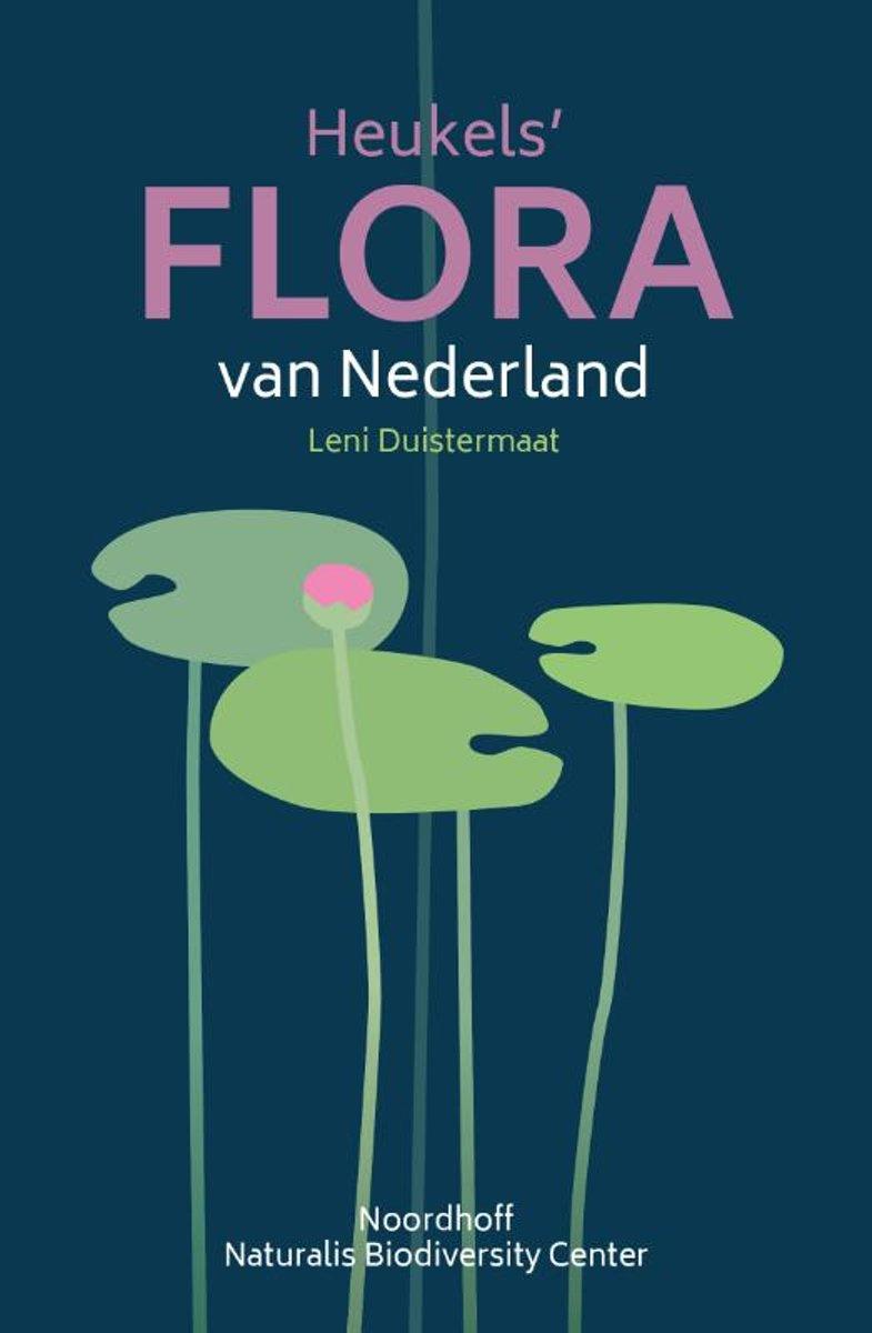 Heukels Flora van Nederland 9789001589561 Leni Duistermaat Noordhoff   Natuurgidsen, Plantenboeken Nederland