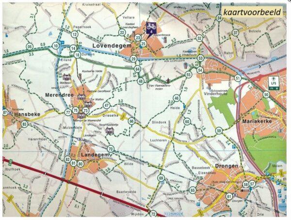 FFK-31 Zeeuws-Vlaanderen   VVV fietskaart 1:50.000 9789028700413  Falk Fietskaarten met Knooppunten  Fietskaarten Vlaanderen, Zeeland
