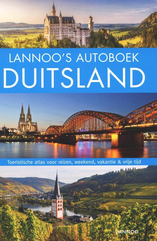 Lannoo's Autoboek Duitsland 9789401458344  Lannoo Lannoos Autoboeken  Reisgidsen Duitsland