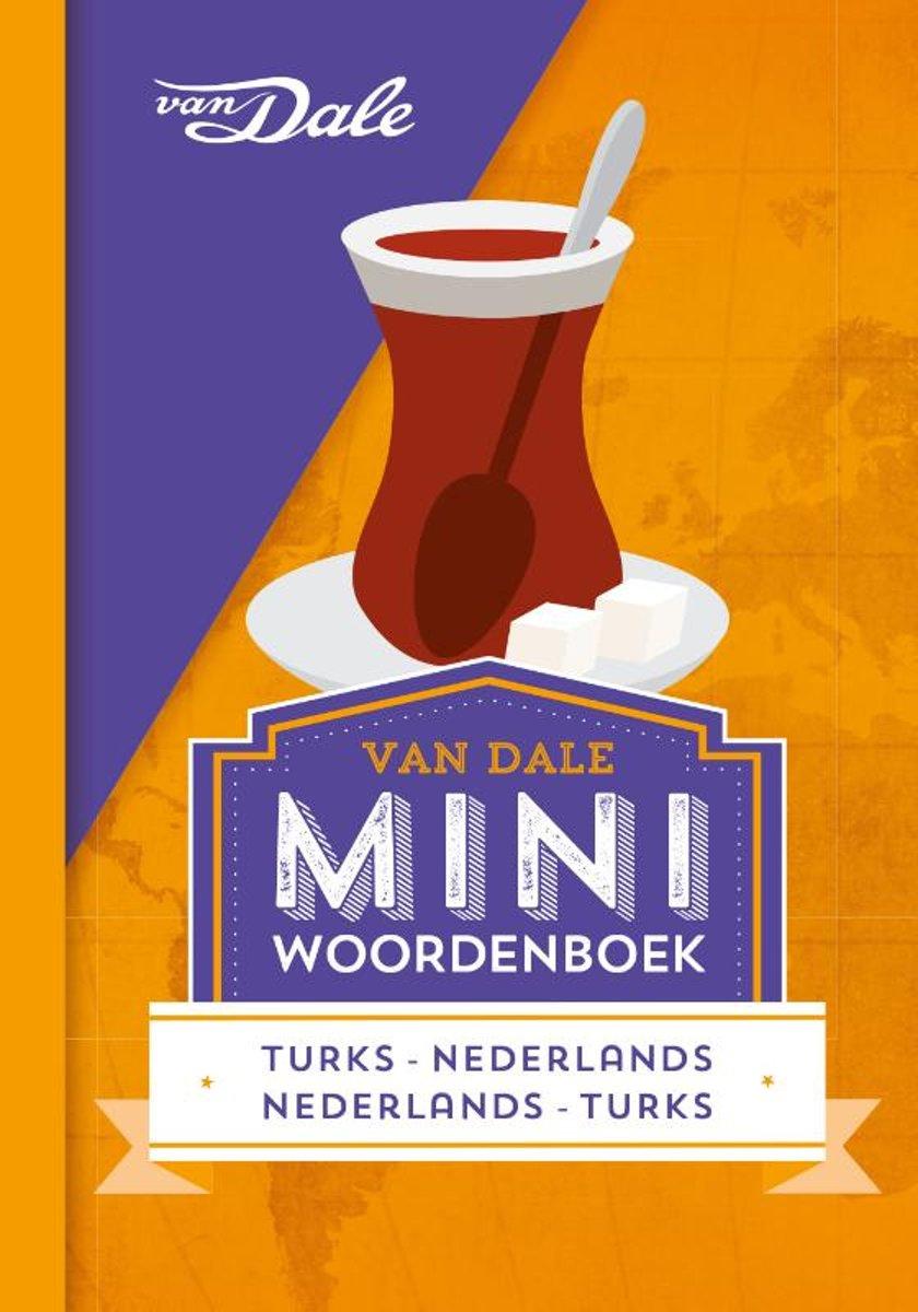 Turks-Nederlands v.v. | miniwoordenboek 9789460774294  Van Dale Miniwoordenboek  Taalgidsen en Woordenboeken Turkije