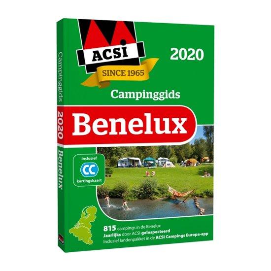 ACSI campinggids Benelux 2020 9789492023865  ACSI   Campinggidsen Benelux