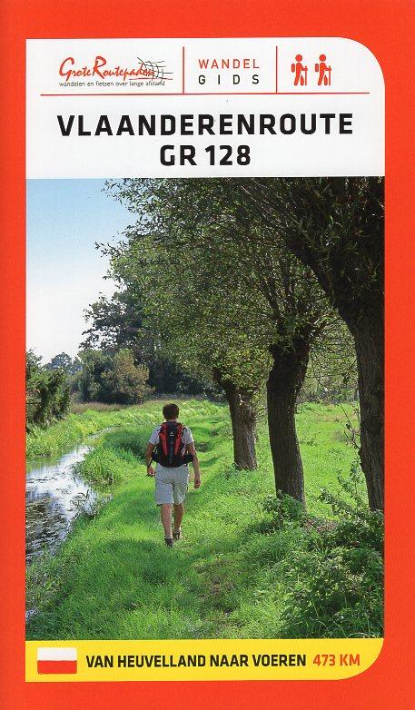 GR-128  Vlaanderenroute (GR128) | wandelgids 9789492608086  Grote Routepaden Topogidsen  Meerdaagse wandelroutes, Wandelgidsen Vlaanderen