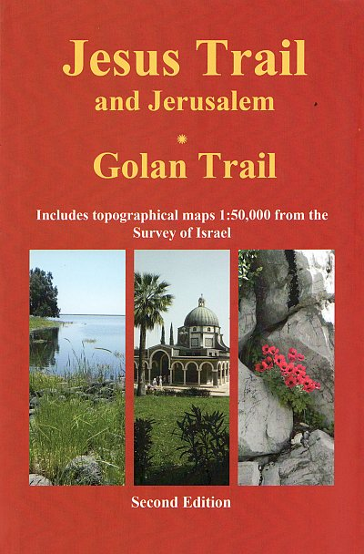 Hiking the Jesus Trail & Golan Trail | wandelgids 9789654205757  Village To Village Press   Meerdaagse wandelroutes, Wandelgidsen Israël, Palestina