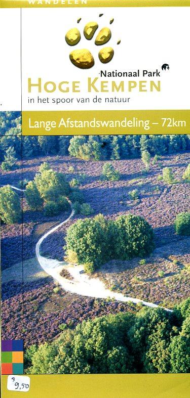 Wandelkaart Hoge Kempen HOGEKEMPEN  Grote Routepaden   Wandelkaarten Antwerpen & oostelijk Vlaanderen