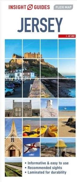 Jersey 1:35.000 9781786719171  APA Insight Flexi Maps  Landkaarten en wegenkaarten Jersey
