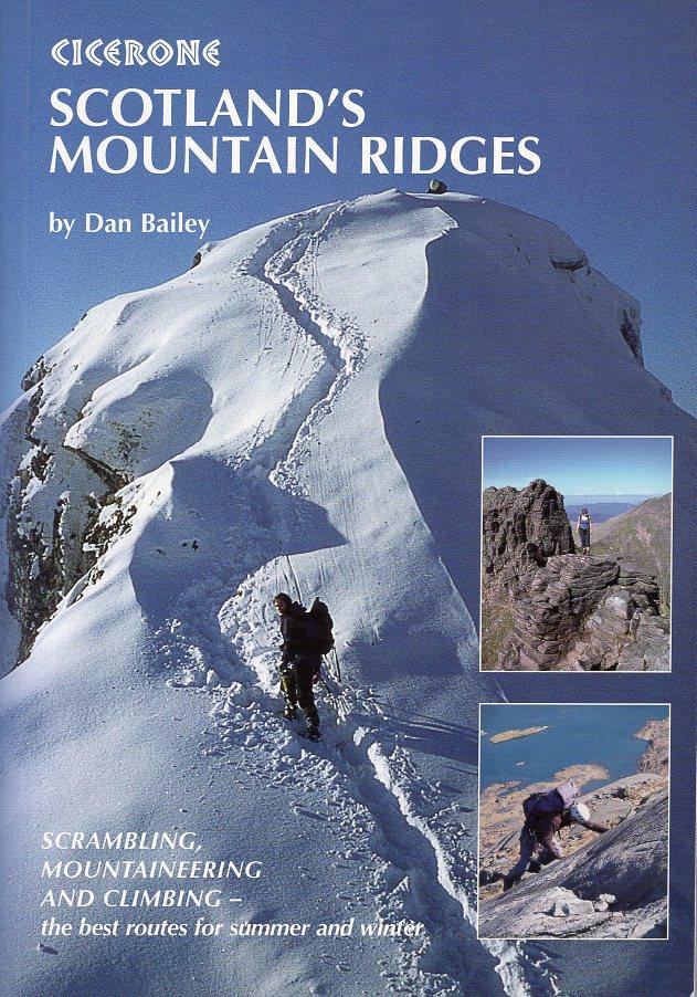 Scotland´s Mountain Ridges | wandelgids 9781852844691  Cicerone Press   Wandelgidsen de Schotse Hooglanden (ten noorden van Glasgow / Edinburgh)