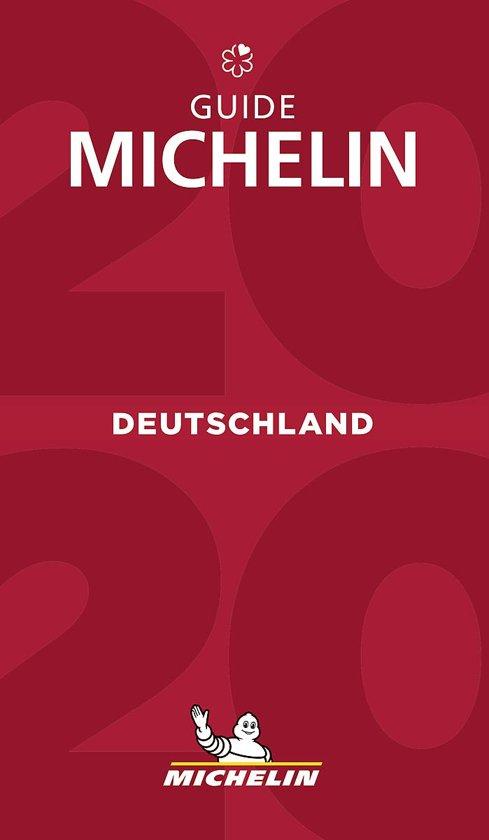 Michelin Gids Duitsland | Deutschland 2020 9782067241886  Michelin Rode Jaargidsen  Restaurantgidsen Duitsland