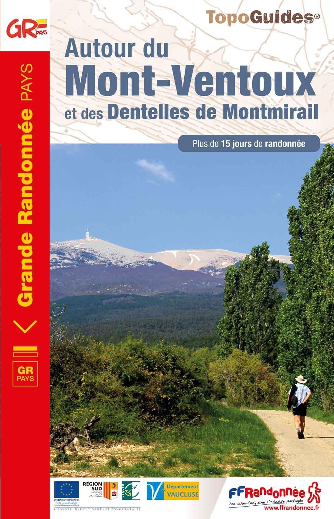 TG8400  Autour du Mont Ventoux | wandelgids 9782751410215  FFRP Topoguides  Meerdaagse wandelroutes, Wandelgidsen Provence, Marseille, Camargue