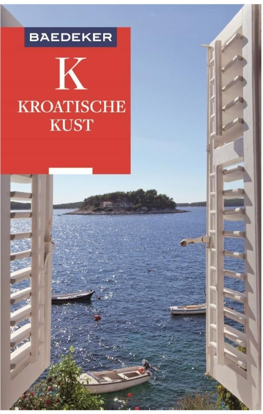 Kroatische Kust Baedeker reisgids 9783829759625  Baedeker Baedeker Nederlands  Reisgidsen Kroatië