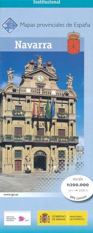 Prov.: Navarra 1:200.000 9788441637122  CNIG Provinciekaarten Spanje  Landkaarten en wegenkaarten Noordwest-Spanje