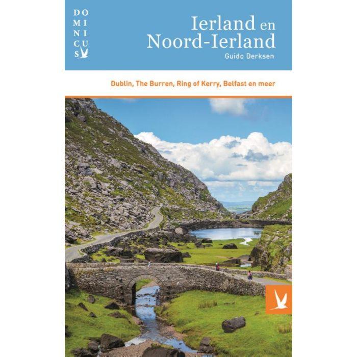 Dominicus reisgids Ierland 9789025765118 Guido Derksen Gottmer Dominicus reisgidsen  Reisgidsen Ierland