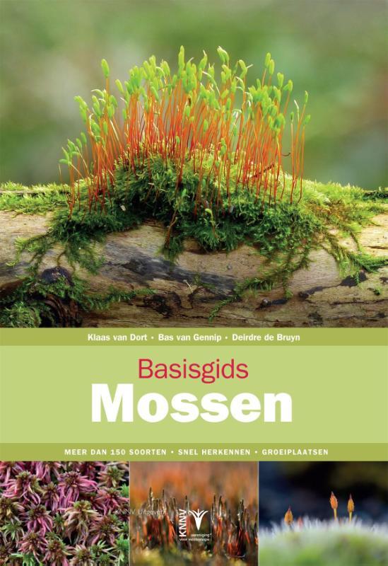 Basisgids Mossen 9789050115582 Klaas van Dort KNNV Basisgidsen  Natuurgidsen, Plantenboeken Europa