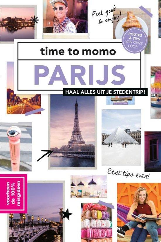 Time to Momo Parijs (100%) 9789057679506  Mo Media Time to Momo  Reisgidsen Parijs, Île-de-France