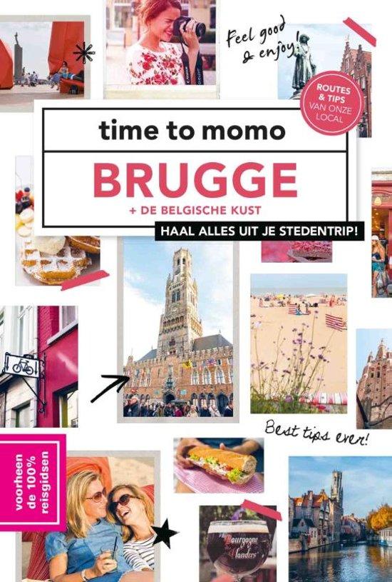 Time to Momo Brugge en de Belgische Kust (100%) 9789057679513  Mo Media Time to Momo  Reisgidsen Gent & Brugge