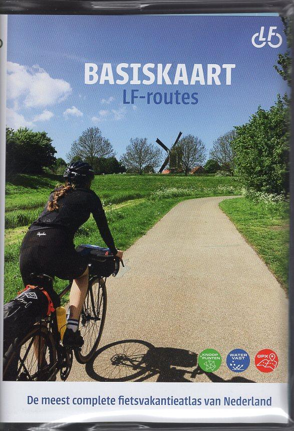 Basiskaart Netwerk LF-routes (ed 2020) 9789072930705  Buijten & Schipperheijn Landelijk Fietsplatform  Fietskaarten, Meerdaagse fietsvakanties Nederland