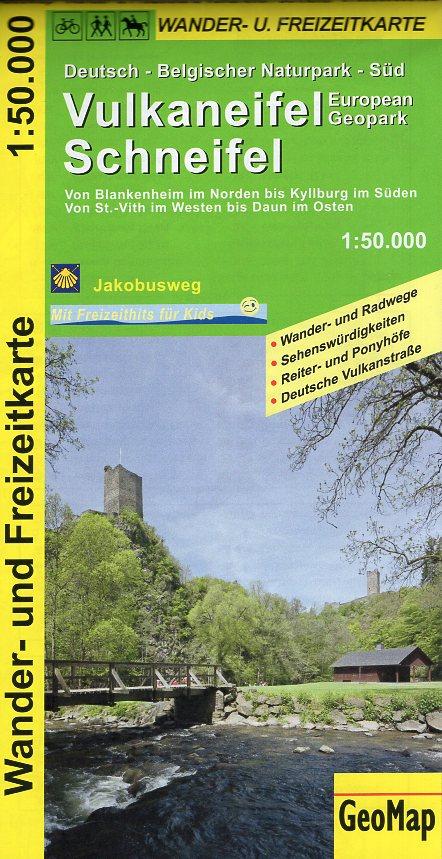 Vulkaneifel/Schneifel 1:50.000 9783959650106  GeoMap Wandelkaarten Eifel  Wandelkaarten Eifel