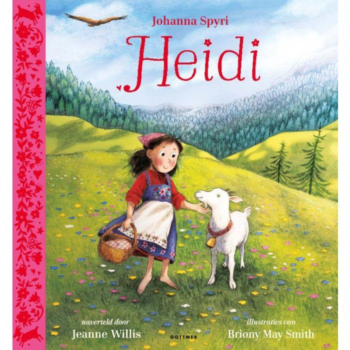 Heidi | kinderboek 9789025772338 Jeanne Willis, ill: Briony May Smith Gottmer   Kinderboeken, Reisverhalen Zwitserland