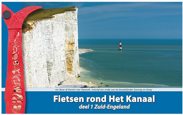 Fietsen rond Het Kanaal, Deel 1 Zuid Engeland 9789077056400 Kees Swart ReCreatief Fietsen   Fietsgidsen, Meerdaagse fietsvakanties Zuidoost-Engeland, Kent, Sussex, Isle of Wight, Zuidwest-Engeland, Cornwall, Devon, Somerset, Dorset