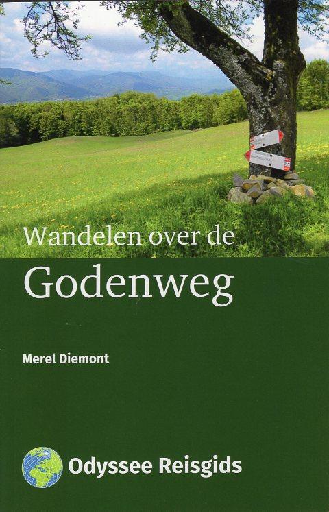 Godenweg | wandelgids Via degli Dei 9789461230645 Merel Diemont Odyssee   Wandelgidsen Italië