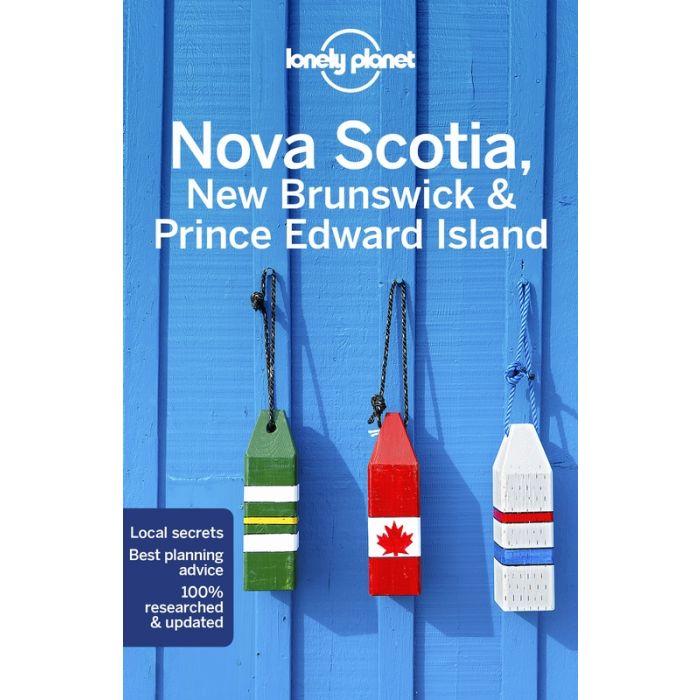 Lonely Planet Nova Scotia 9781787013629  Lonely Planet Travel Guides  Reisgidsen Canada ten oosten van de Rockies