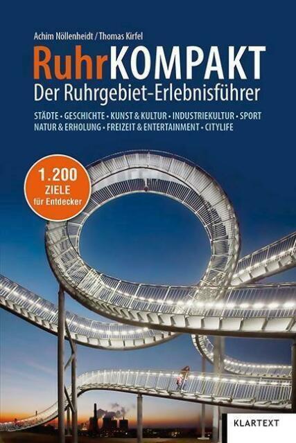 RuhrKompakt | reisgids Ruhrgebied 9783837522594  Klartext   Reisgidsen Ruhrgebied