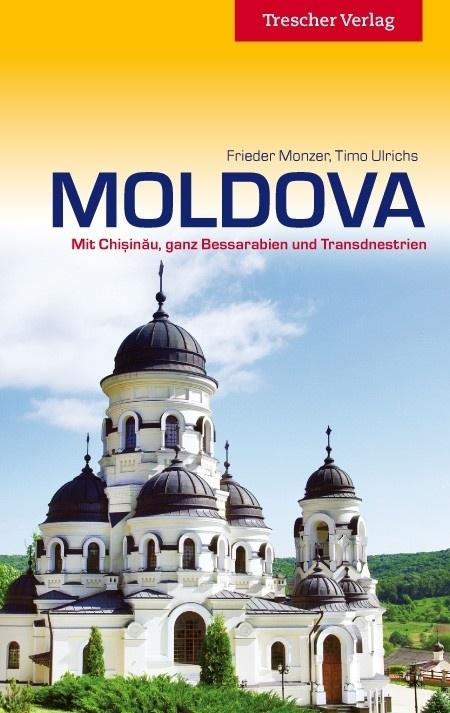 Moldova (Moldavië) | reisgids 9783897944558  Trescher Verlag   Reisgidsen Roemenië, Moldavië