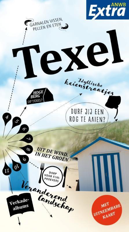 ANWB Extra reisgids Texel 9789018045425  ANWB ANWB Extra reisgidsjes  Reisgidsen Waddeneilanden en Waddenzee