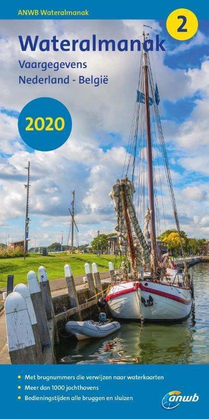 Wateralmanak deel 2 (jaarl.)   2020 9789018045944  ANWB   Watersportboeken Benelux
