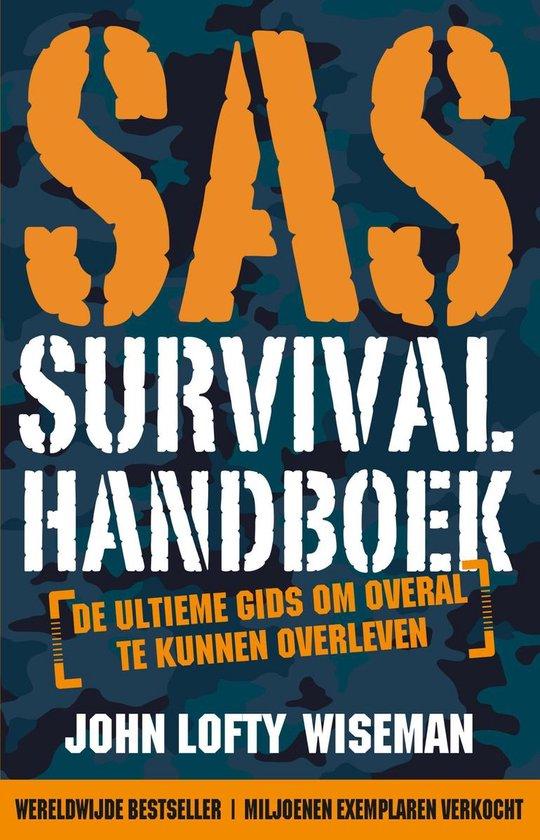 SAS Survival Handboek 9789021577586 John Lofty Wiseman Kosmos   Wandelgidsen Reisinformatie algemeen