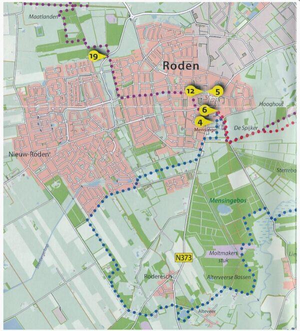 Langs de mooiste diepjes in de Kop van Drenthe 9789460224218 Fokko Bosker LM Publishers Wandelknooppuntenreeks  Wandelgidsen Drenthe